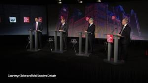 Trudeau and Mulcair attack Harper on refugee crisis