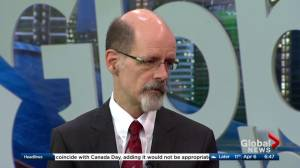 Dr. Patrick Baillie discusses Matthew De Grood's annual review (05:26)
