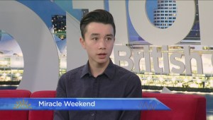 Miracle Weekend: 2016 BCCHF Champion Child