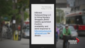 Mystery shopping texts sent to Canadians turn out to be scam