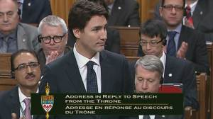 Trudeau lists 5 things Canadians expect his government to do