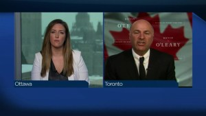 Kevin O'Leary: 'If I don't deliver a majority mandate in 2019, fire me'