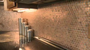 Edmonton homeowner gets creative with pennies