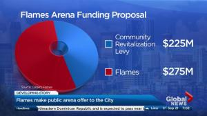 Calgary Flames release Victoria Park arena funding proposal