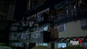 Coquitlam apartment fire leaves many homeless