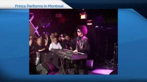Montrealers remember Prince, dead at 57