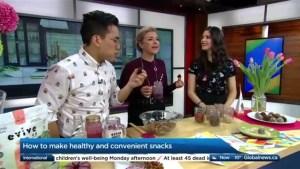 DIY healthy and quick snacks