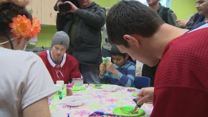Montreal Canadiens visit Children's Hospital
