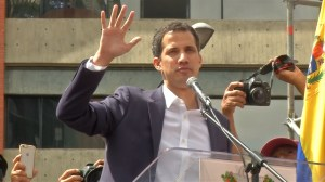 Venezuela's Guaido declares himself interim president, Maduro faces pressure