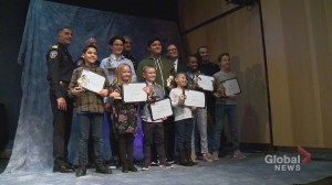 Calgary 911 Heroes Awards given out to youth who made the right call in an emergency situation
