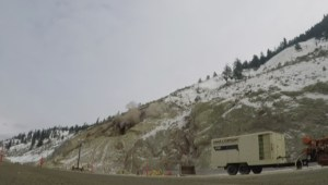 Price tag to repair Highway 97 near Summerland after rockslides came down pegged at $1 Million, possibly more