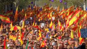 Hundreds of thousands march in Barcelona for unity