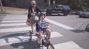 Variety Week 2018: Catching up with Ainsley and her new adaptive bicycle