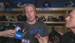 RAW: Winnipeg Jets Patrik Laine Interview – Dec. 10