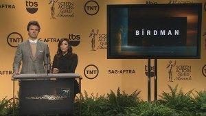 Birdman and Boyhood lead the way in SAG Award nominations