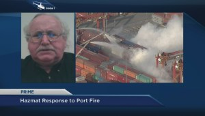 Hazmat response and safety protocols at Port of Vancouver chemical fire