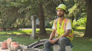'Every step you take is harder than the last': construction crews on working through a heat wave