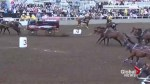 Chuckwagon driver injured at Calgary Stampede
