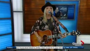 Danielle Bourjeaurd performs 'What Difference Does She Make' on The Morning Show