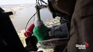 Black Hawk aircrew rescues people impacted by Hurricane Michael in Florida
