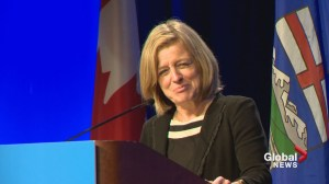 Premier Notley shrugs off dismal poll numbers for the NDP government