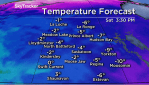 Saskatoon weather outlook warm weekend before a surge of arctic air