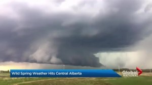 Wild weather in Alberta