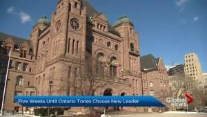 5 weeks until Ontario PC Party members choose new leader