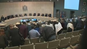 Edmonton Transit driver who stopped racist verbal tirade against young women thanked at city hall