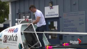 Canadian to row across Atlantic for Cancer