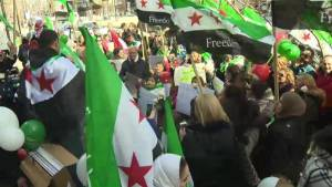 Montrealers commemorate Syrian Revolution
