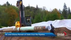 Provincial divide on Trans Mountain Pipeline