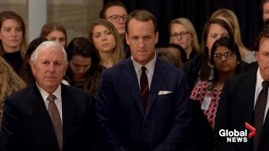 Sports legends visit Capitol Rotunda to pay their respects to President George H.W. Bush
