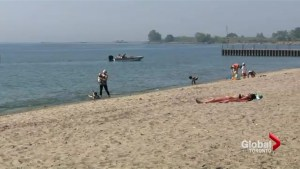 Some beaches unsafe for swimming