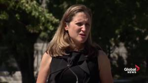 Saudi students 'welcome' in Canada as withdrawals occur: Freeland