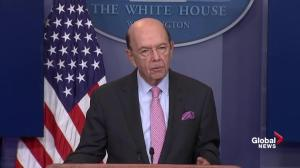 U.S. Commerce Sec. outlines Trump's trade grievances against Canada on lumber
