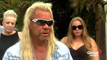 Duane 'Dog' Chapman tears up in first interview since wife Beth's