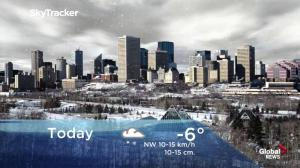 Edmonton early morning weather forecast: Friday, March 8, 2019