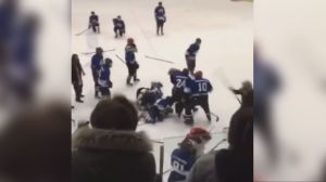 Peel police called to Mississauga arena after hockey brawl breaks out