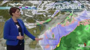 Winnipeg Snow on the Way