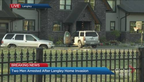 2 suspects caught following Langley home invasion | Watch News Videos Online