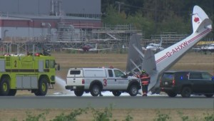 TSB investigates Abbotsford Airport crash