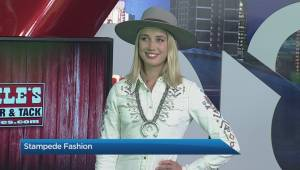 Stampede fashions from Lammle's Western Wear
