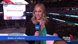 Oilers set to hit the ice for 1st pre-season game at Rogers Place