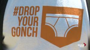 'Drop Your Gonch' provides Edmonton's homeless with new undergarments