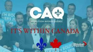 CAQ wants English community votes