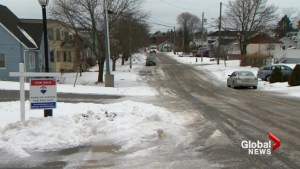Return to school takes terrible turn for young Saint John student due to icy sidewalk