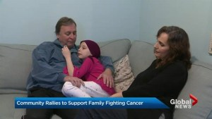 Toronto community rallies to support family of child fighting cancer