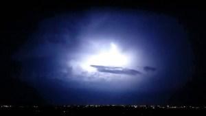 Video of lightning over Winnipeg. Courtesy: Devin Purvis.