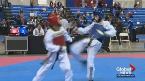 Calgary's Olympic Oval hosts Canada's top taekwondo athletes at Nationals